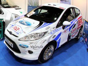Voit saada kilpa-autosi esille Hanaa Expoon.